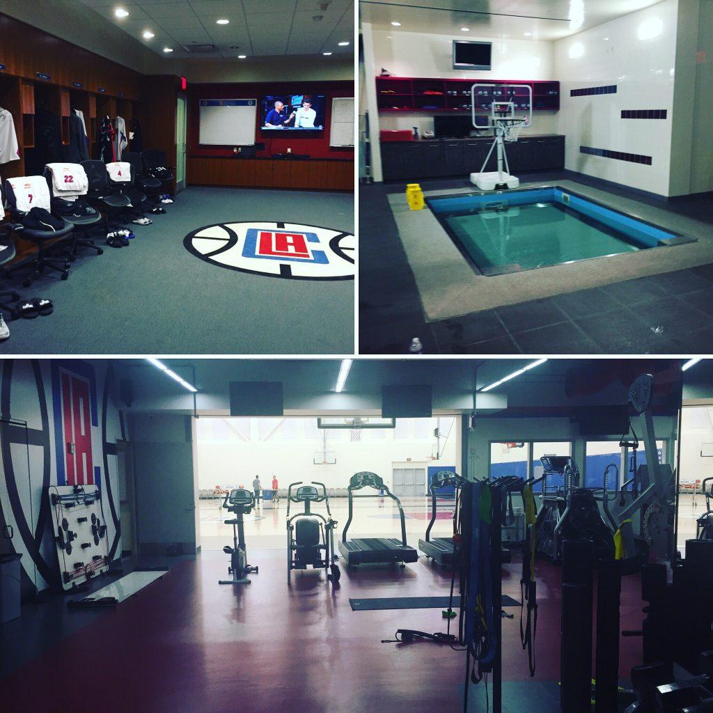 LA Clippers' luksusfasiliteter