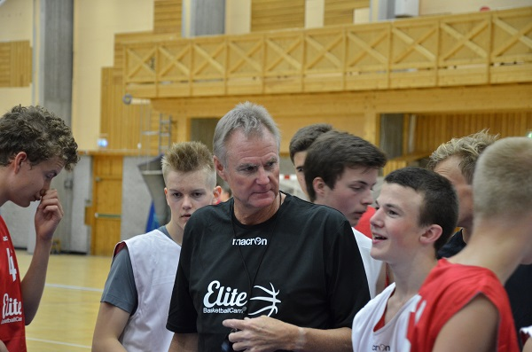 NBA-trenere på Elite Basketball Camp i Bergen