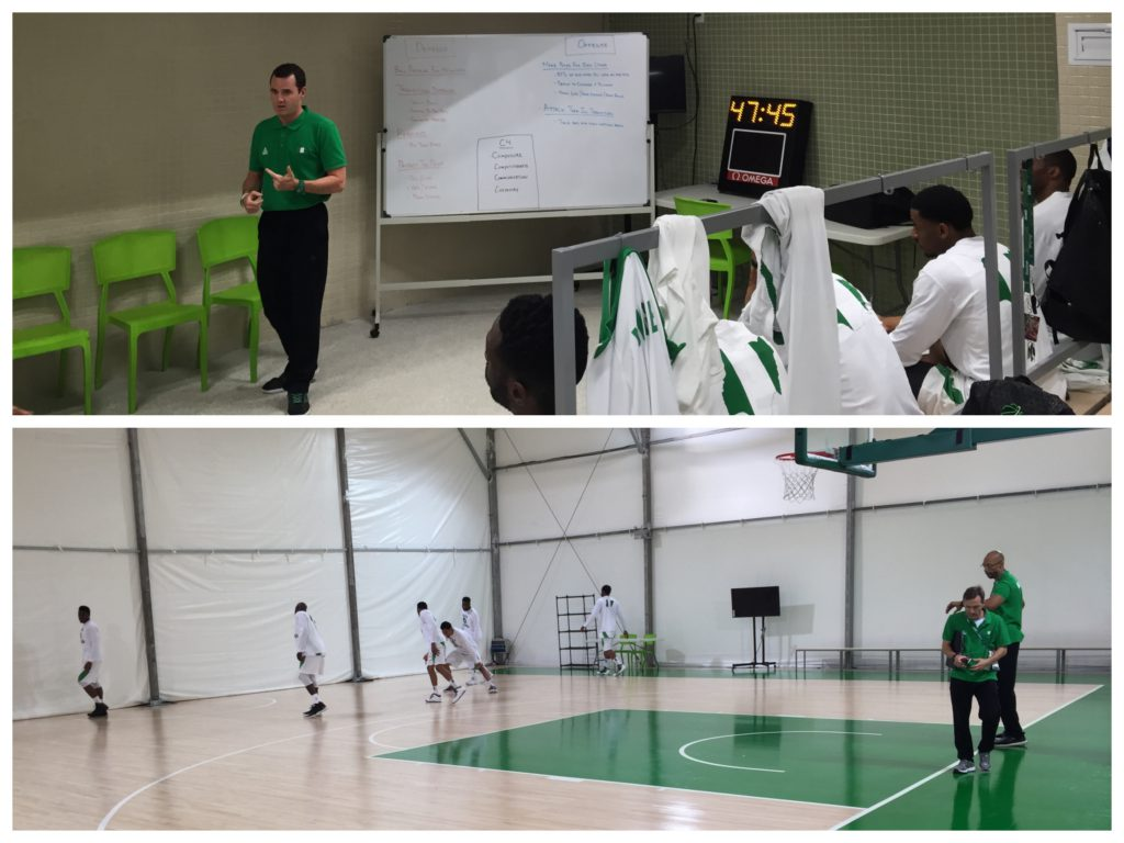 Pre-game i Rio