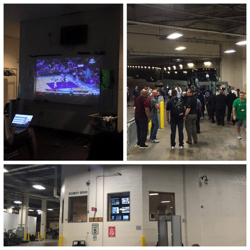 Videoanalyse og sikkerhet ved Houston Toyota Center