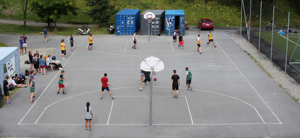 NTNUI Basket arrangerte 3x3-turnering for internasjonale studenter 28. august